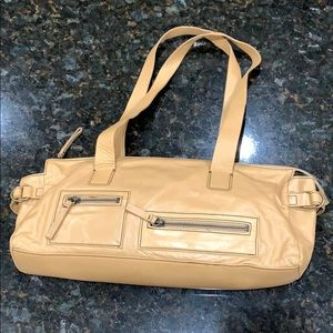 A really cute and camel leather bag. Nordstrom